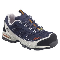 Nautilus - N1326 SZ - 4H Men's Athletic Style Work Shoes, Steel Toe Type, Leather/Nylon Upper Material, Navy, Size 12W