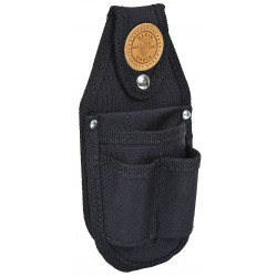 Klein Tools - 5482 - Black Tool Pouch, Cordura Ballistic Nylon, Fits Belts Up To (In.): 2