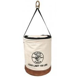 Klein Tools - 5104CLR22 - Klein 5104CLR22 150-Pound Heavy Duty Leather Bottom 22-Inch Top Closing Bucket