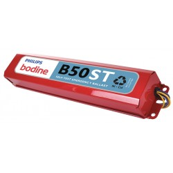 Philips - B50ST - 17 to 215W Self-Testing Emergency Ballast, 1400 Initial Lumens, 1 or 2 Lamp(s) Supported, Steel Hous