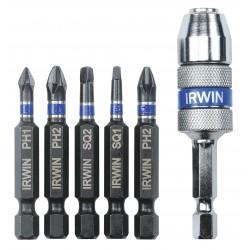 IRWIN Industrial Tool - 1840313 - Irwin 1840313 6-Piece Impact Quick-Change Set