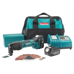 Makita - XMT035 - Makita XMT035 18V LXT Lithium-Ion Cordless Multi-Tool Kit includes Battery and Charger