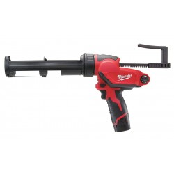 Milwaukee Electric Tool - 2441-21 - Milwaukee 2441-21 M12 12V 10Oz. Caulk And Adhesive Gun w/ Batteries