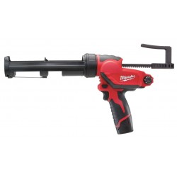 Milwaukee Electric Tool - 2444-21 - Milwaukee 2444-21 M12 12V Quart Caulk And Adhesive Gun w/ Batteries