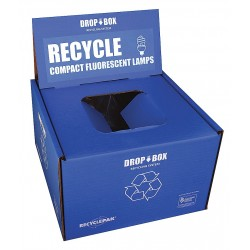 RecyclePak / Veolia - SUPPLY-253 - CFL Recycling Kit, 13x13x9In