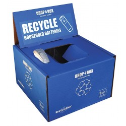 RecyclePak / Veolia - SUPPLY-252 - Battery Recycling Kit, 13x13x9In