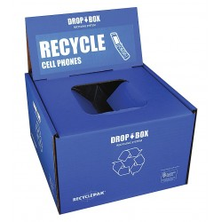RecyclePak / Veolia - SUPPLY-255 - Cell Phone Recycling Kit, 13x13x9