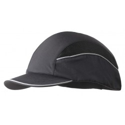 Bon-Mar - SCARAP1BLK - Black Inner ABS Polymer, Outer Nylon Bump Cap, Style: All Season Baseball, Fits Hat Size: 7 to 7-3/4