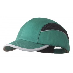 Bon-Mar - SCARAP1GRN - Green Inner ABS Polymer, Outer Polycotton Bump Cap, Style: All Season Baseball, Fits Hat Size: 7 to