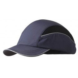 Bon-Mar - SCARAP1NVY - Navy Inner ABS Polymer, Outer Nylon Bump Cap, Style: All Season Baseball, Fits Hat Size: 7 to 7-3/4