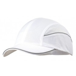 Bon-Mar - SCARAP1WHT - White Inner ABS Polymer, Outer Nylon Bump Cap, Style: All Season Baseball, Fits Hat Size: 7 to 7-3/4