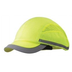 Bon-Mar - SCARAP1YLW - Yellow Inner ABS Polymer, Outer Nylon Bump Cap, Style: All Season Baseball, Fits Hat Size: 7 to 7-3/
