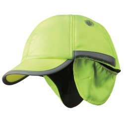 Bon-Mar - SCARAP2YLW - Yellow Inner ABS Polymer, Outer Nylon Bump Cap, Style: Winter Baseball, Fits Hat Size: 7 to 7-3/4