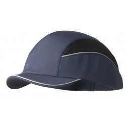Bon-Mar - SCARAP3NVY - Navy Inner ABS Polymer, Outer Nylon Bump Cap, Style: Short Peak Baseball, Fits Hat Size: 7 to 7-3/4
