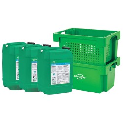 Bio-Circle - 53G167K - Parts Soaking System Kit, 15.9 gal.