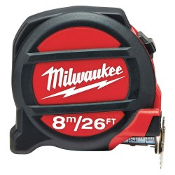 Milwaukee Electric Tool - 48-22-5226 - Milwaukee 48-22-5226 26-Foot 8m Nylon Bonded Blade Reinforced Tape Measure