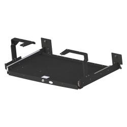 Gamber-Johnson - 7160-0438 - Gamber-Johnson Mounting Shelf - 125 lb Load Capacity - Steel - Black