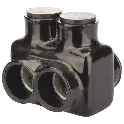 Polaris Electrical Connectors - IT-600B - 2.34L 2-Port Insulated Multitap Connector, Double-Sided Entry, T, 600 kcmil Max. Conductor Size