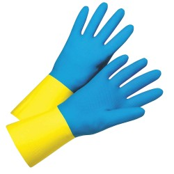 West Chester - 2224/10 - 28mil Flock Lin Blue Neo/yellow Latex