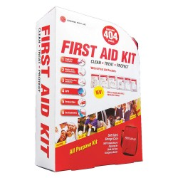 Tender - 9999-2304 - First Aid Kit, Kit, Nylon Case Material, Industrial, 50 People Served Per Kit