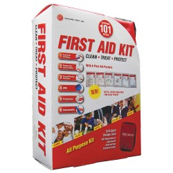 Tender - 9999-2301 - First Aid Kit, Kit, Nylon Case Material, Industrial, 10 People Served Per Kit