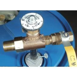 Zebra Skimmers - MIX03725 - Adjustable Coolant Mixer, Cast Brass, 2 In
