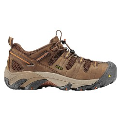 KEEN - 1006978 - Men's Work Boots, Steel Toe Type, Leather Upper Material, Brown, Size 7-1/2D