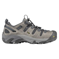 KEEN - 1006979 - Men's Work Boots, Steel Toe Type, Leather Upper Material, Gray, Size 8EE