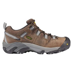 KEEN - 1007012 - Men's Work Boots, Steel Toe Type, Leather Upper Material, Brown, Size 15D