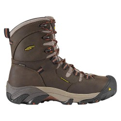 KEEN - 1008313 - 8H Men's Work Boots, Steel Toe Type, Leather Upper Material, Brown, Size 11EE