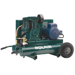Rolair - 3230K24-0095 - 3 HP, 230VAC, 9 gal. Portable Electric Air Compressor, 150 psi