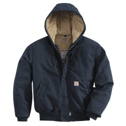 Carhartt - 101622-410-XL-REG - FR Active Jac, Dark Navy, XL