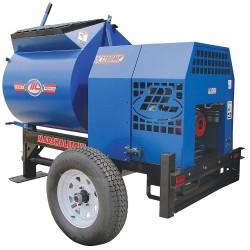 Marshalltown Trowel - 1200MP8HP - Mortar Plaster Mixer, 12 cu. ft., 8 HP, Gas