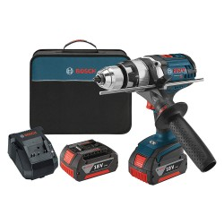 Bosch - HDH181X-01 - 1/2 Cordless Hammer Drill/Driver Kit, 18.0 Voltage, Battery Included