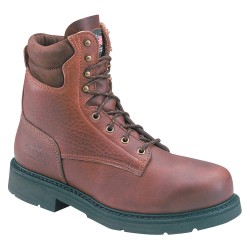 Weinbrenner Shoe - 804-4204 - 8H Men's Boots, Steel Toe Type, Leather Upper Material, Brown, Size 10-1/2B