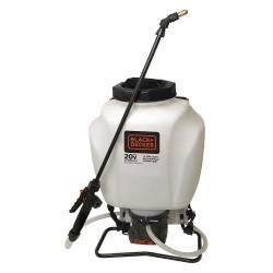 Black & Decker - 63980 - Backpack Sprayer, Polyethylene Tank Material, 4 gal., 30 psi Max Sprayer Pressure