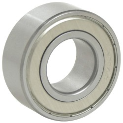 Bearings Limited - 5204 ZZ/C3 PRX - Angular Contact Ball Bearing, 2700lb.