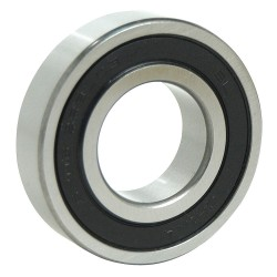 Bearings Limited - 1604 2RS PRX - Radial Ball Bearing, Double Sealed Bearing Type, 0.3750 Bore Dia., 0.8750 Outside Dia.