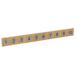 Draeger - 8321839 - Module Numbering, 1 in. L x 1 n W x 1in D