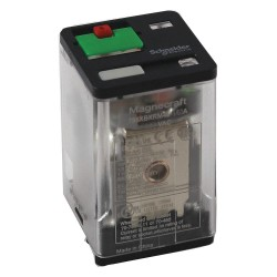 Telemecanique / Schneider Electric - 788XBXRM4L-240A - 240VAC, 8-Pin Square Base General Purpose Plug-In Relay; AC Contact Rating: 10A @ 277V