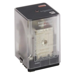 Telemecanique / Schneider Electric - 788XCXRC-240A - 240VAC, 11-Pin Square Base General Purpose Plug-In Relay; AC Contact Rating: 10A @ 277V