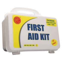 Tender - 9999-2005 - First Aid Kit, Kit, Plastic Case Material, Industrial, 10 People Served Per Kit