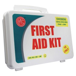 Tender - 9999-2006 - First Aid Kit, Kit, Plastic Case Material, Industrial, 25 People Served Per Kit