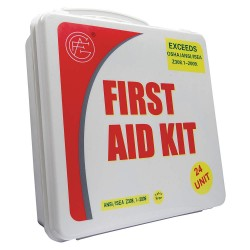 Tender - 9999-2007 - First Aid Kit, Kit, Plastic Case Material, Industrial, 50 People Served Per Kit