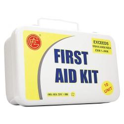 Tender - 9999-2001 - First Aid Kit, Kit, Metal Case Material, Industrial, 10 People Served Per Kit