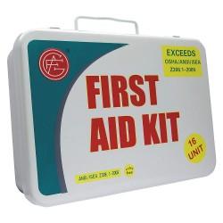 Tender - 9999-2002 - First Aid Kit, Kit, Metal Case Material, Industrial, 25 People Served Per Kit