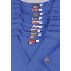 Landau Uniforms - 71229 - ScrubTop, Unisx, XS, Navy, IntColrCode, PK12