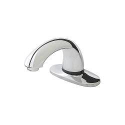Rubbermaid - 1818967 - Brass Commercial Faucet, Sensor Handle Type, No. of Handles: 0