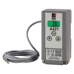 Johnson Controls - A421ABT-02C - Electronic Temperature Control, 2-3/8in W