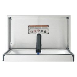 Foundations - 100SS-SM - Baby Changing Station, Horizontal, Flush Mount, 304 Stainless Steel, 16 ga.